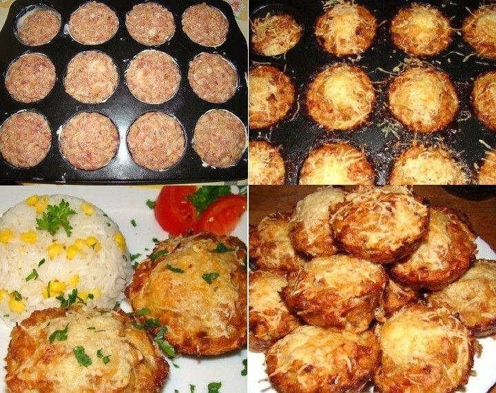 Sonkás, sajtos muffin recept fantasztikus ötlet vacsorára. A család imádni fogja :) - MindenegybenBlog