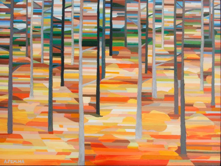 530 Forest Oil on Canvas 36 X 48