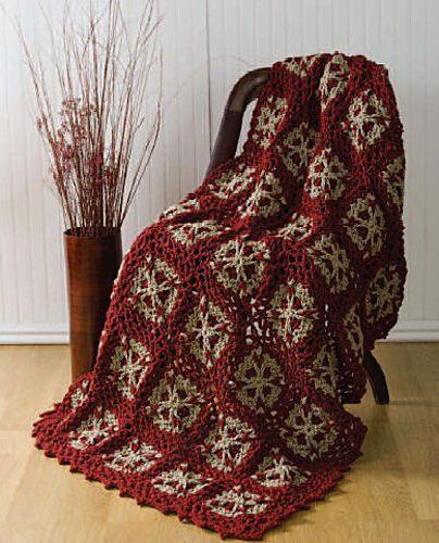 Make It Crochet | Your Daily Dose of Crochet Beauty | Free Crochet Pattern: Flower Throw