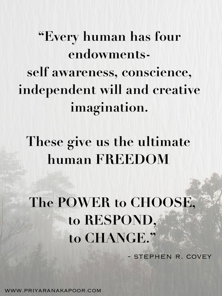 Freedom-Choice-- Stephen Covey