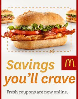 Mcdonalds coupons teilnehmende restaurants