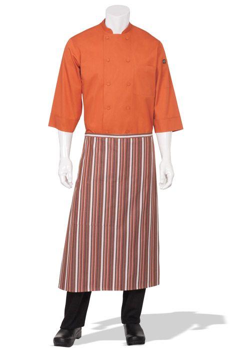 Orange Chef Coats Aprons Server Shirts Amp Chef Hats We