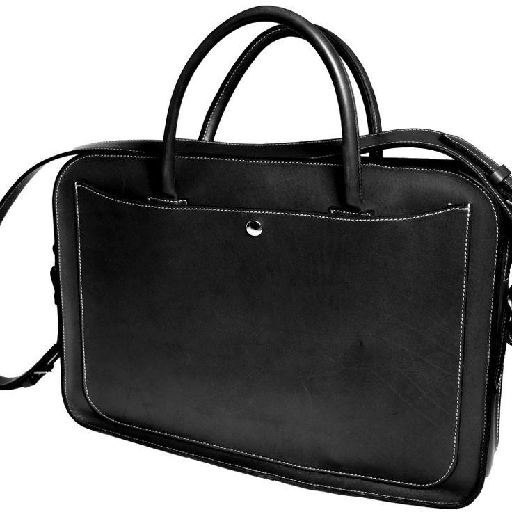 Maletin ejecutivo de cuero 💼   Leather briefcases 💼  #marroquineria
