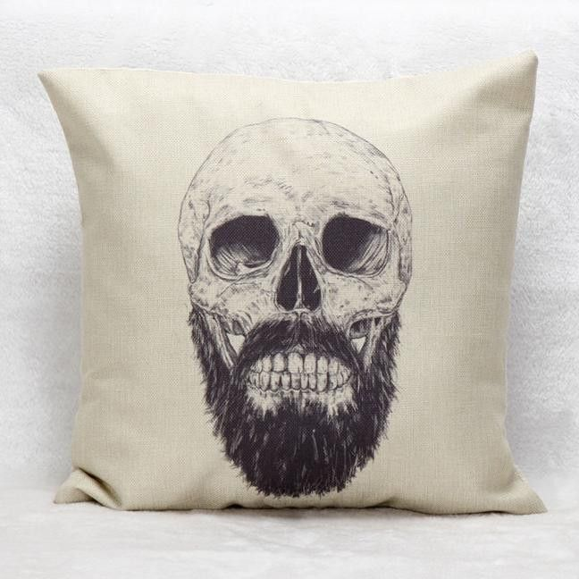 Hot new item just added today Skull Pillow Case.... Click here http://everythingskull.com/products/skull-pillow-case-sofa-waist-throw-cushion-cover-1?utm_campaign=social_autopilot&utm_source=pin&utm_medium=pin take a closer look.