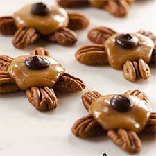 #Bouchées de #pacanes choco-caramel #noel #cdpfetes #cadeau #chocolat #caramel