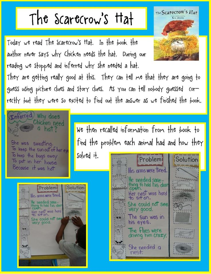 Golden Gang Kindergarten: The Scarecrows Hat- Reading and Math Freebies