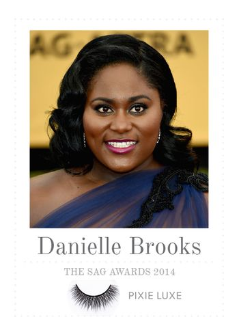 Celebrity press house of lashes in pixie luxe with danielle brooks