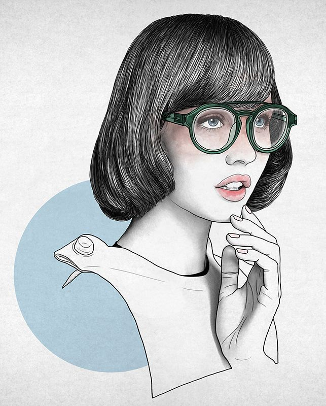 #fortunatodisco #newdivision #illustration #digital #pencil #line #textured #character