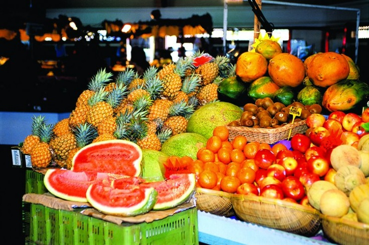 New Caledonia: Noumea city market