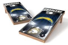 San Diego Chargers Single Cornhole Board - Plate