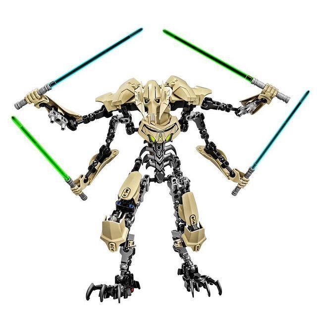 LEGO Star Wars Constraction 75112 - General Grievous #Lego #StarWars #LegoStarWars #GuerreStellari