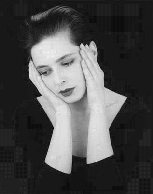 Isabella Rossellini, 1988 by Robert Mapplethorpe