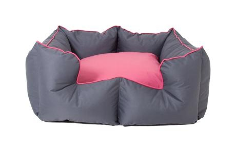 Large K9 Castle – Grey & Pink from Wagworld - R729 (Save 22%)