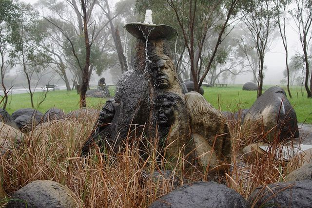 Fountain of tears monument