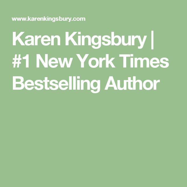 Karen Kingsbury | #1 New York Times Bestselling Author