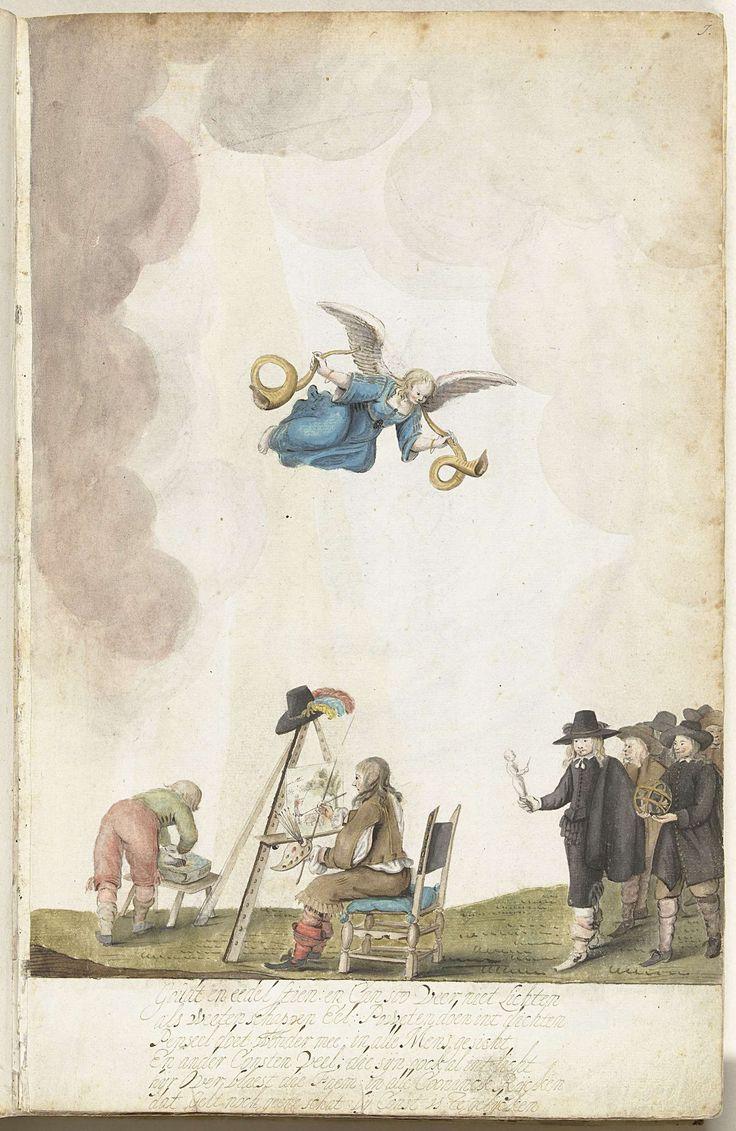 Eerbetoon aan Kunst, Gesina ter Borch, c. 1652