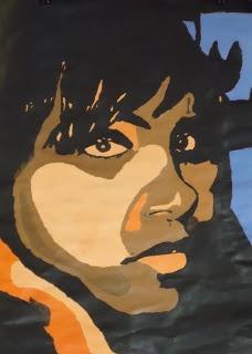 Andy Warhol monochromatic portraits