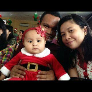Jemima at Chrismas Celebration