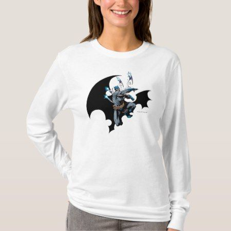 Batman throws weapons T-Shirt - tap to personalize and get yours