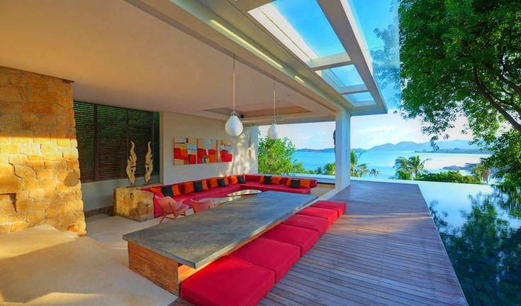 A Stunning Villa Features Expansive Open-air Lounge, Koh Samui, ThailandDesignRulz2 February 2015Koh Samui is a cosmopolitan melting pot, attracting budget travelers staying for a month or two in simple beachside bungalows... Architecture Check more at http://rusticnordic.com/a-stunning-villa-features-expansive-open-air-lounge-koh-samui-thailand/