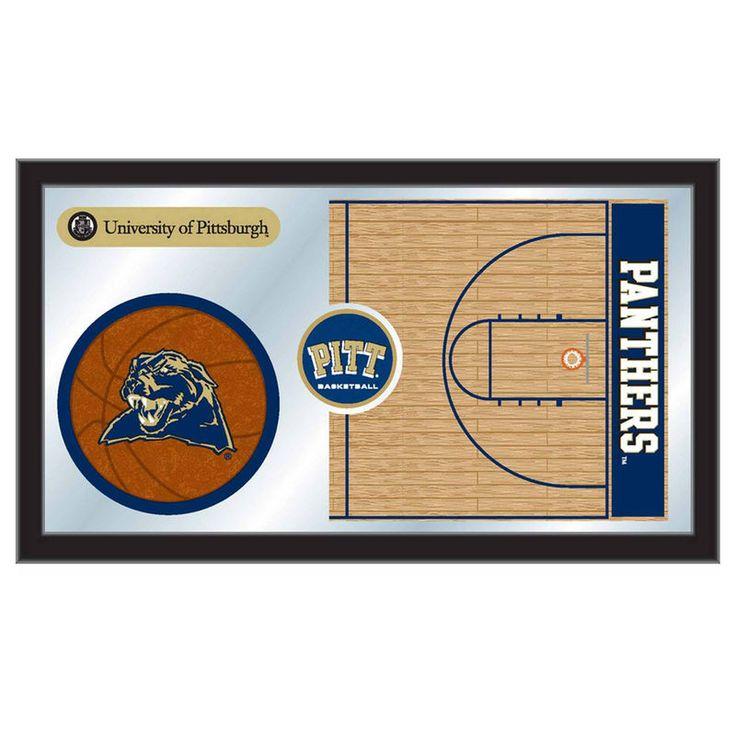 "Pitt Panthers 15"" x 26"" Basketball Mirror"