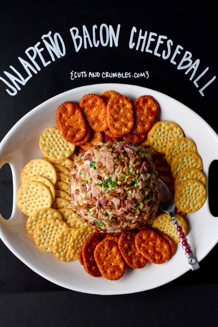 Jalapeno Bacon Cheeseball