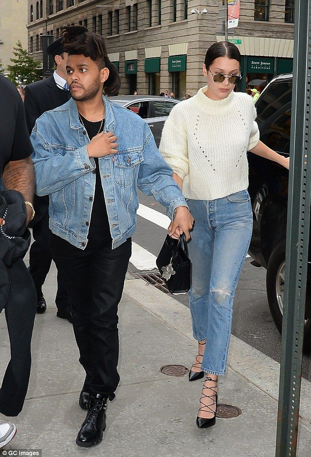 Loved up: The Earned It singer is currently dating 19-year-old model Bella Hadid, as they were spotted holding hands during her birthday festivities in New York on October 9