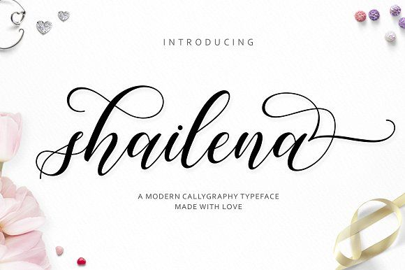 Shailena Script by Jamalodin on @creativemarket