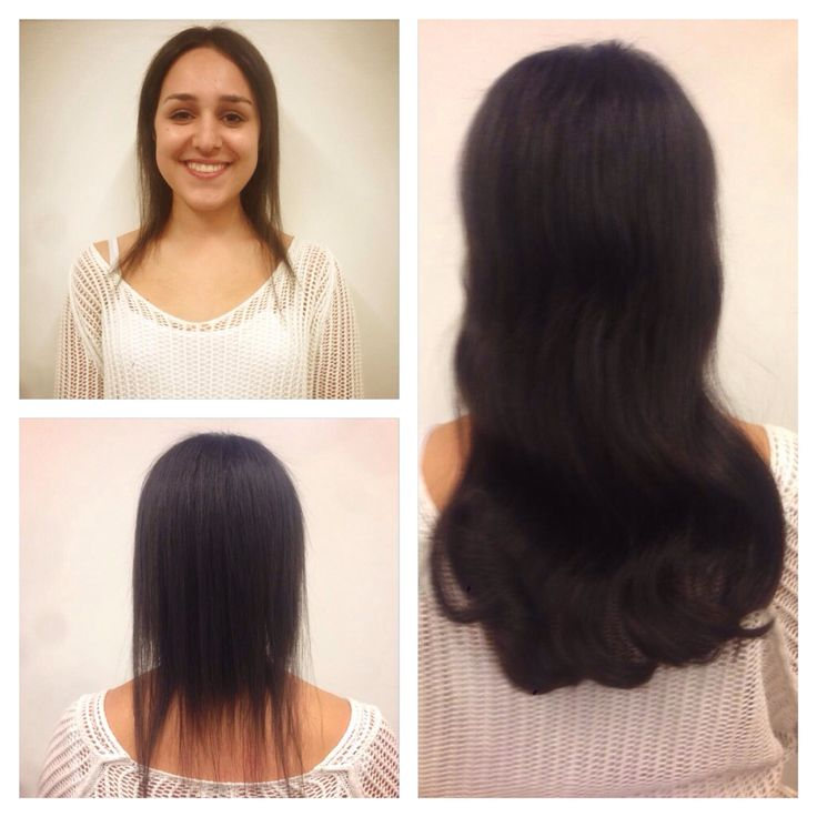 BEFORE_After Great Lengths Hair Extensions  by mister_Dior