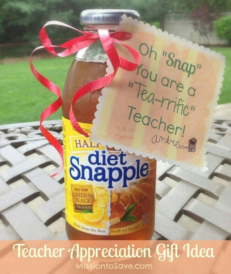 .Oh Snap- You are a tea rrific teacher