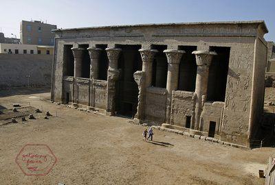Temple of Khnum in Esna