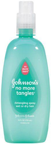 Johnson's No More Tangles Detangler Spray || Skin Deep® Cosmetics Database | EWG