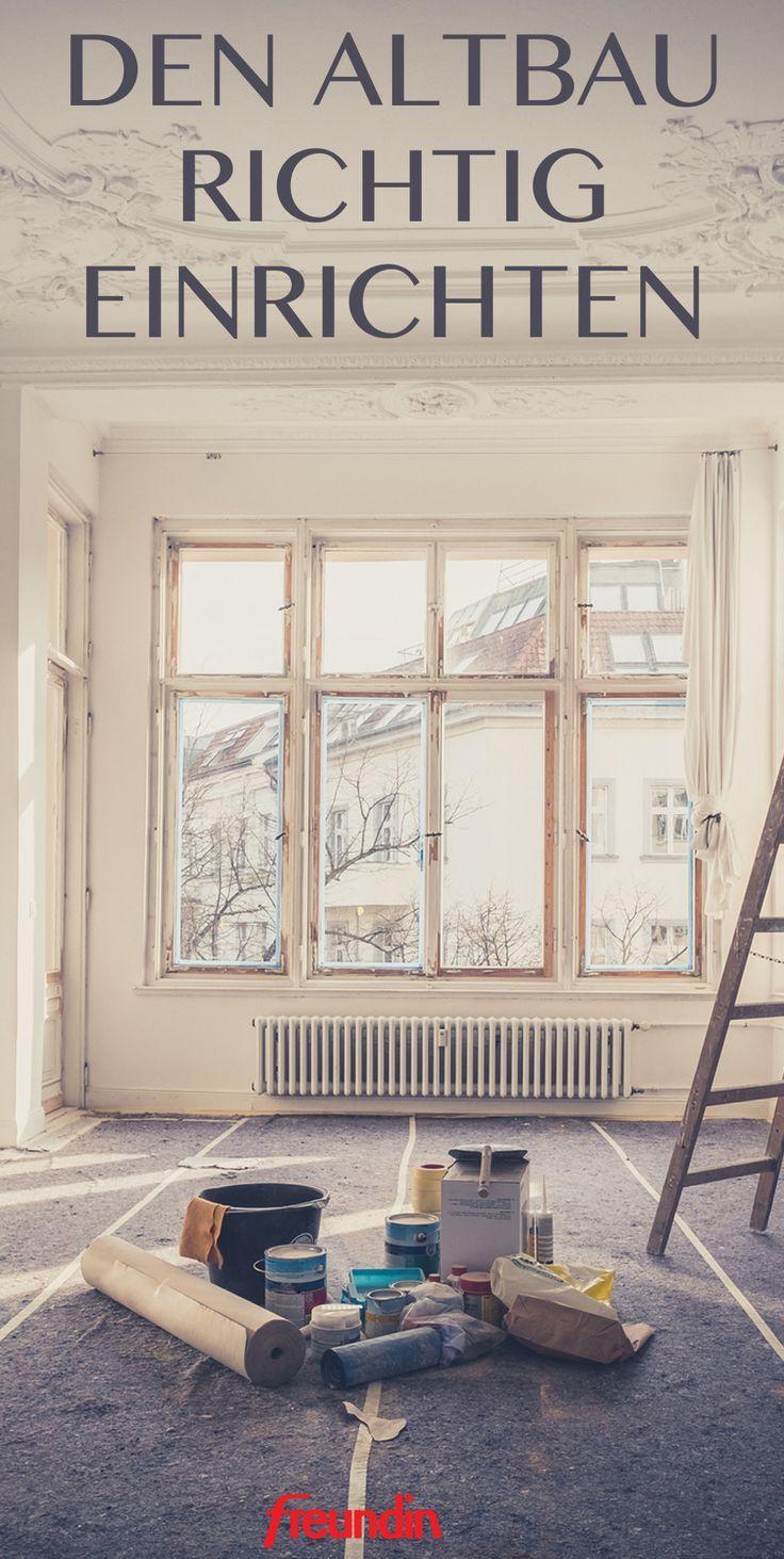 Einrichtungstipps: Hohe Wände und Holzboden: Einen Altbau einrichten
