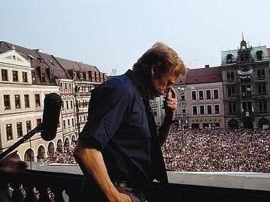 Listopad 1989- Václav Havel