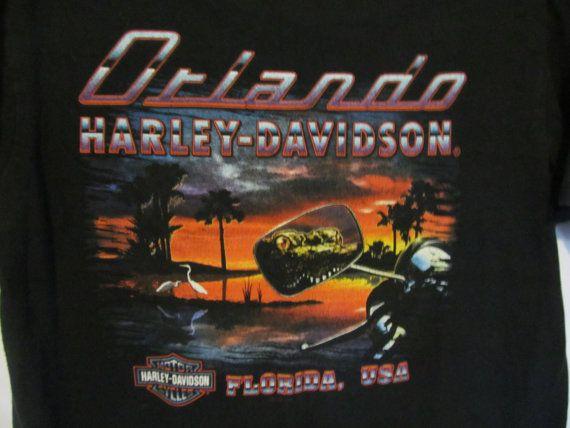 Florida Dealer Vintage Harley Davidson by ReVintageBoutique.Etsy.com