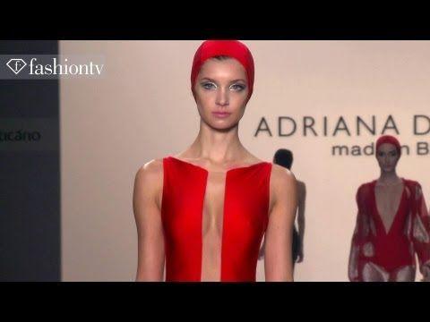 Adriana Degreas Swimwear Spring/Summer 2014 Show | Sao Paulo Fashion Week SPFW | FashionTV - YouTube