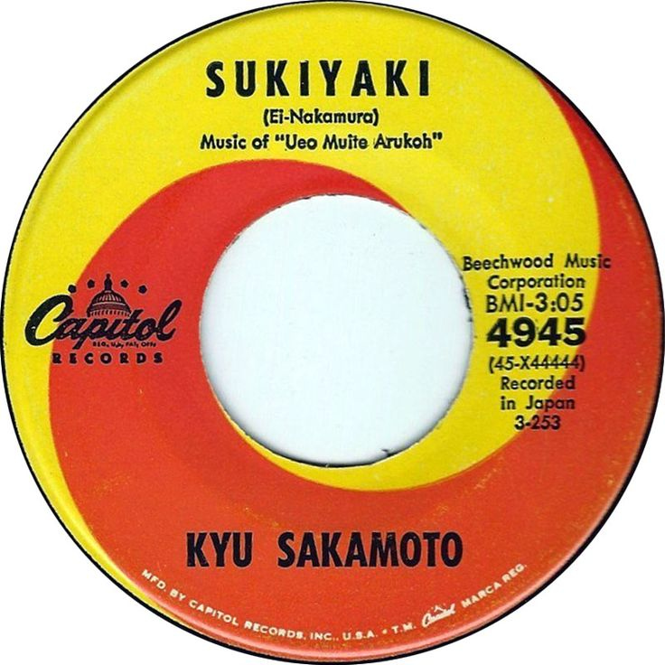 Sukiyaki - Kyu Sakamoto (1963)