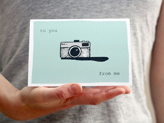 To You From Me card £1.00