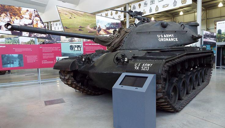US M48 Patton Tank 1953 to date Tank Museum Bovington
