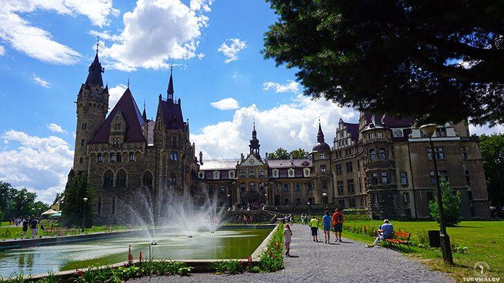 Zamek w Mosznej, czyli polski Hogwart :-D