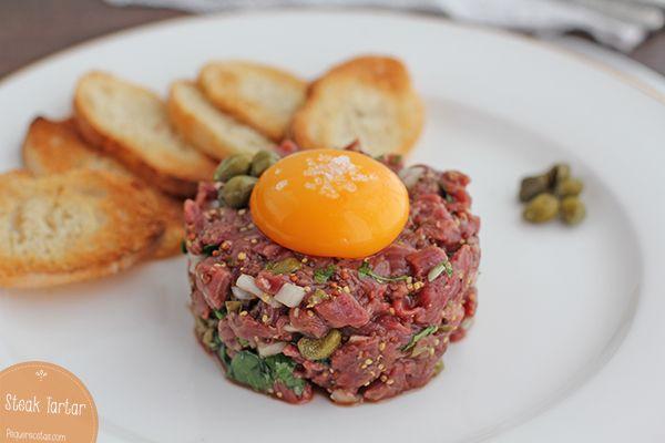 1000+ ideas about Steak Tartare on Pinterest   Salmon ...