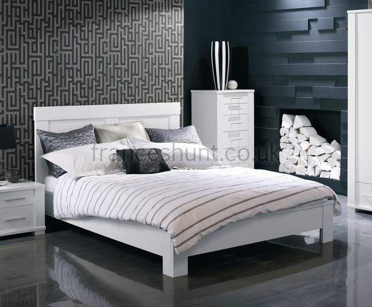 61 best White Bedroom Furniture images on Pinterest | White ...