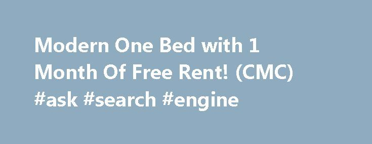 Modern One Bed with 1 Month Of Free Rent! (CMC) #ask #search #engine http://questions.remmont.com/modern-one-bed-with-1-month-of-free-rent-cmc-ask-search-engine/  #free ask the doctor # $599 / 1br – Modern One Bed with 1 Month Of Free Rent! (CMC) (Indianapolis) Who: Pangea Groves – Call now at show contact info What: 1 Bedroom for $599 (600.0 sqft) Where: 5018 Lemans Dr Indianapolis, IN 46205 Building Amenities: Parking Onsite Laundry Cable Ready Pool 24 hr Fitness...