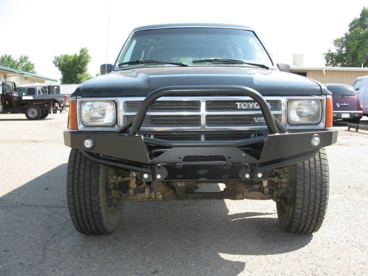 Plate Front Bumper 4Runner (1986-1989)