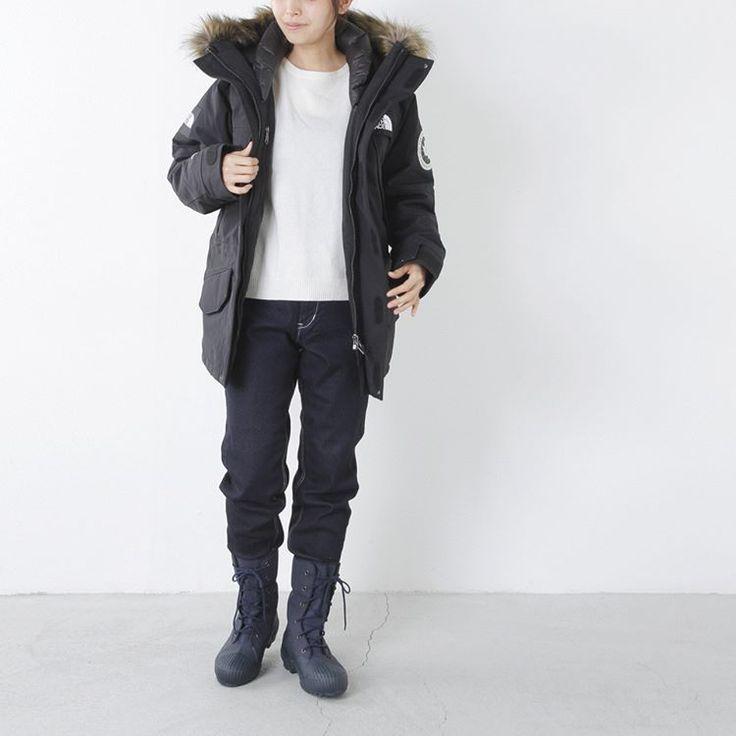 """#coat THE NORTH FACE(ノースフェイス)アンタクティ ダウンパーカー #tops fabriqueenplaneteterre(ファブリケアンプラネテール)9分袖ロング丈コットンカットソー #pants Lee(リー)ダンガリーぺインターパンツ  #Boots Moonstar(ムーンスター)コーティングキャンバスウィンターブーツ""""ANTARC""""  #aranciato #アランチェート #fashion #ootd #今日の服 #THENORTHFACE #ノースフェイス #fabriqueenplaneteterre #ファブリケアンプラネテール #Lee #リー #moonstar #ムーンスター  #ブーツ #2016aw #秋冬コーデ #メイドインジャパン #japanmade #久留米 #kurume"""