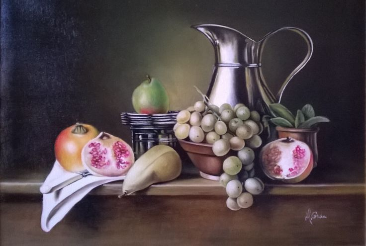 Still Life N 221, 40x55 cm, 2011 Oil painting, Inspirational Examples
