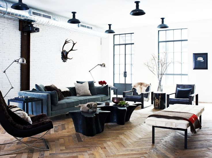 Tour A Chic New York Loft With Hint Of Edge
