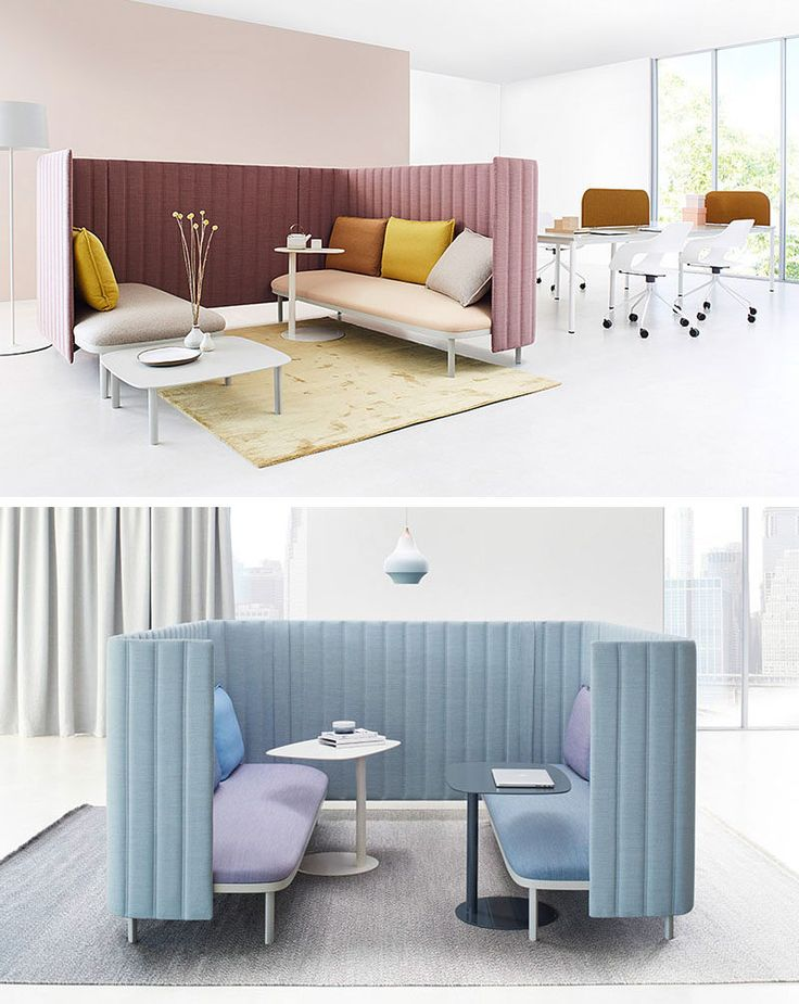 German furniture company ophelis, has designed a collection of modular office furniture pieces that are named ophelis sum. The concept for the collection is based on three core elements: the base, the partition and the pillow.