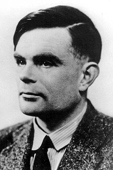 Code-breaker: Alan Turing, a pioneer in modern computing, and the man who headed the team of mathematicians who - along with a team of cryptologists from the Polish Cipher Bureau - broke the code for the Nazi's Enigma Machine that saved thousand of lives by shortening the WWII by two years.
