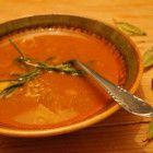 Grünkernsuppe - Vegan Blatt